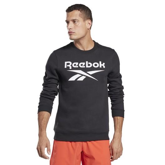 Reebok Identity Fleece Crew Erkek Sweatshirt