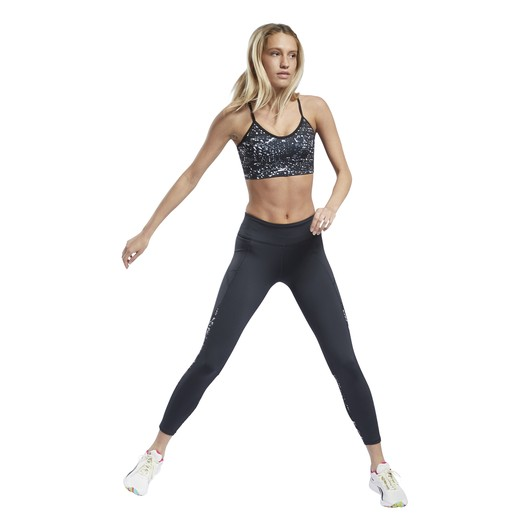 Reebok Workout Printed Running Kadın Tayt