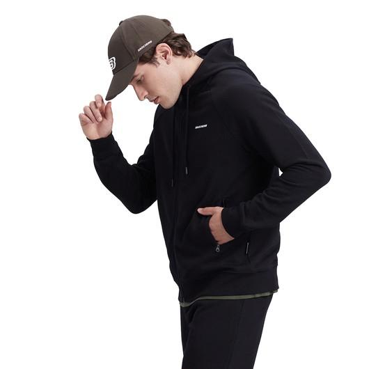 Skechers New Basics Full-Zip Hoodie Erkek Sweatshirt