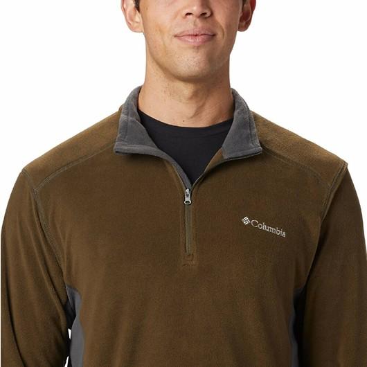 Columbia Klamath Range II Fleece Half-Zip Erkek Sweatshirt