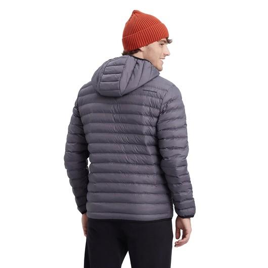 Skechers Essential Padded Lightweight Full-Zip Hoodie Erkek Mont