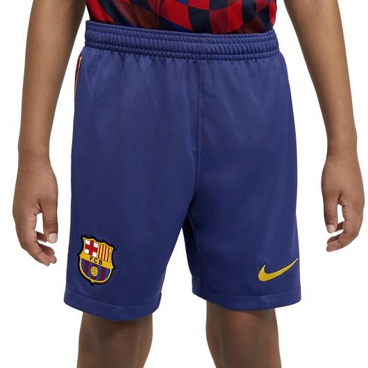 Nike F.C. Barcelona 2020-2021 Stadium Home/Away Football Çocuk Şort