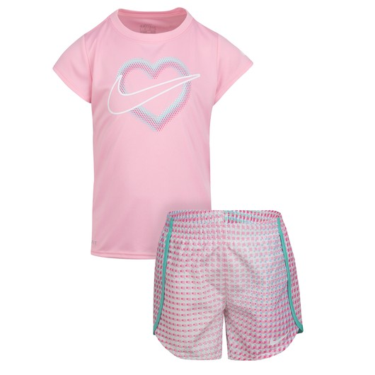 Nike Pixel Pop Sprinter Tişört&Şort (Girls') Çocuk Takım