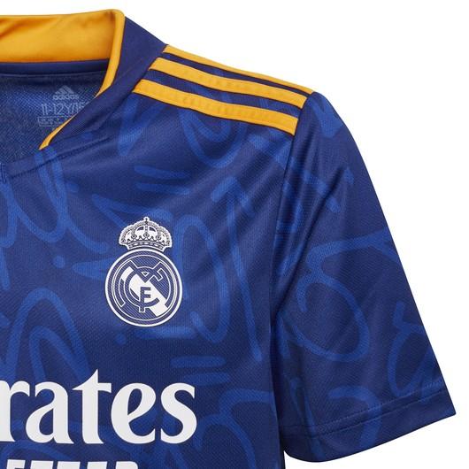 adidas Real Madrid 2021/2022 Deplasman Çocuk Forma