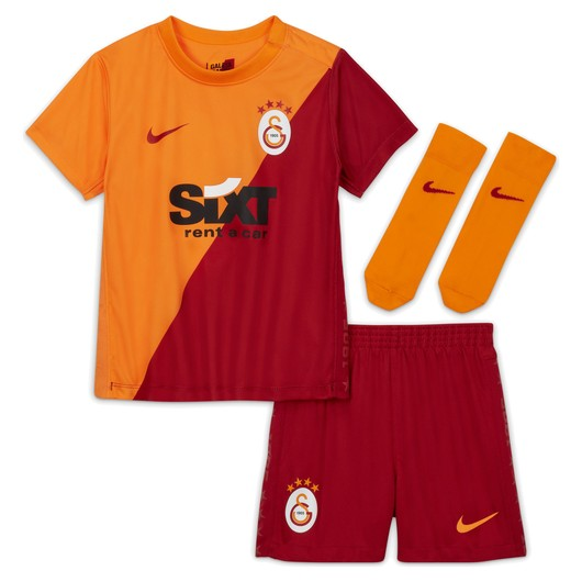 Nike Galatasaray 2021-2022 Stadyum İç Saha Bebek Forma Takım