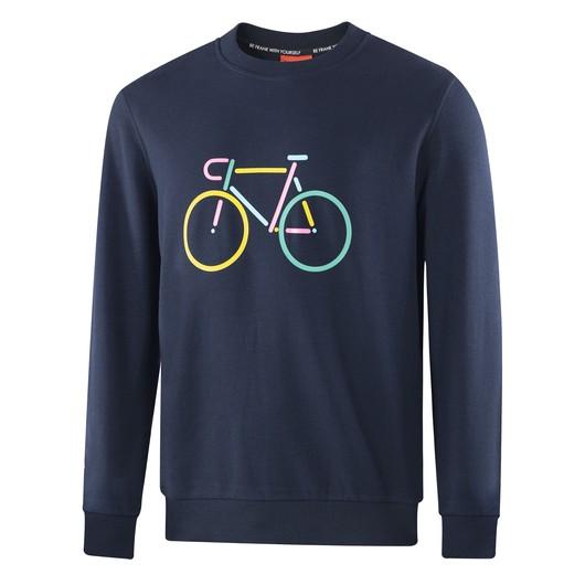 John Frank Cool Bike Erkek Sweatshirt