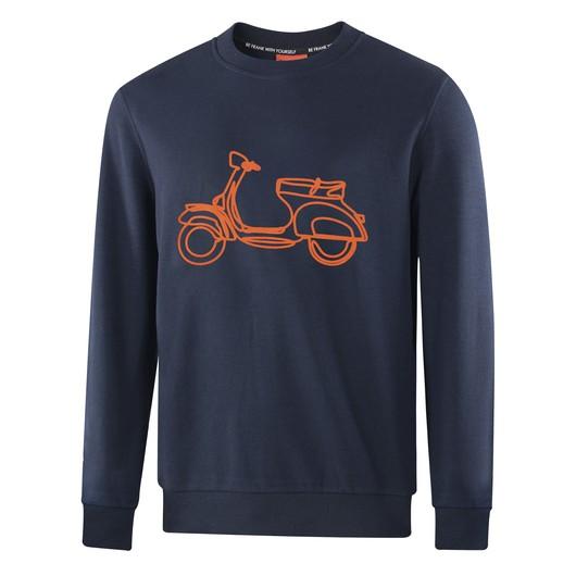 John Frank Cool Yespa Erkek Sweatshirt